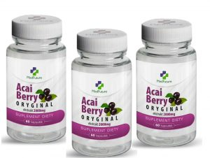 capsule de slabit acai berry original 2000 mg